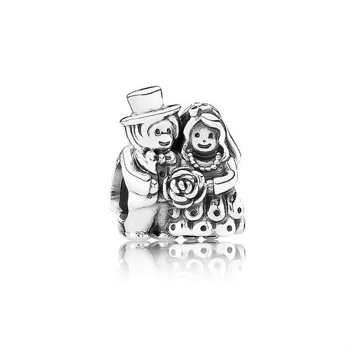2018 Pandora Bride & Groom Charm 791116