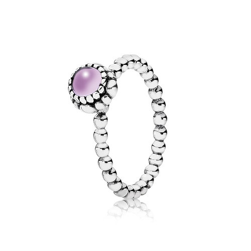 2018 Pandora February Birthstone Ring 190854AM