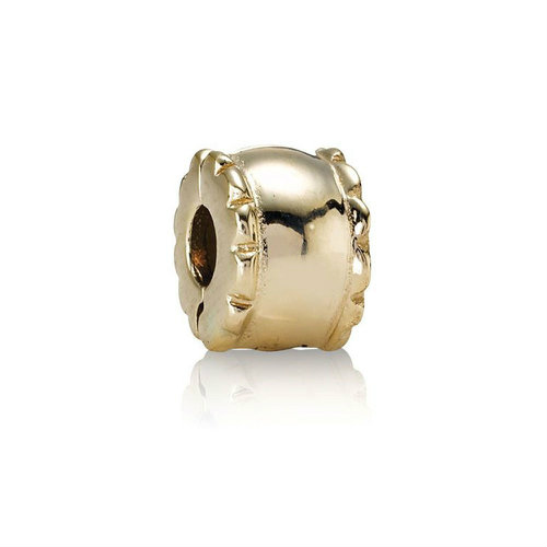 2018 Pandora Gold Barrel Clip 750256