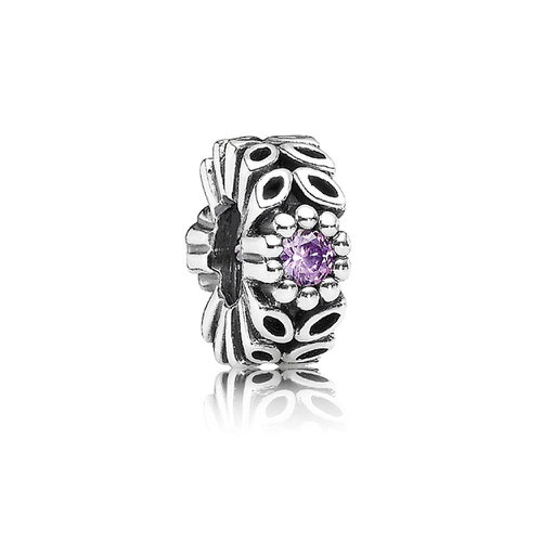 2018 Pandora Sparkling Forest Flower Spacer 791224CFP